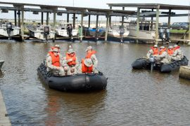 Disaster Training Exercise in Louisiana; Accessed via Wikimedia Commons