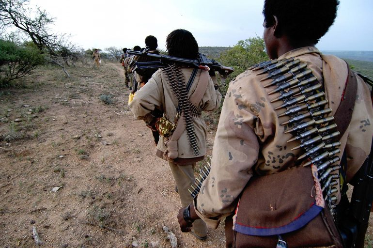 ONLF rebels in Ethiopia; accessed via Wikimedia Commons