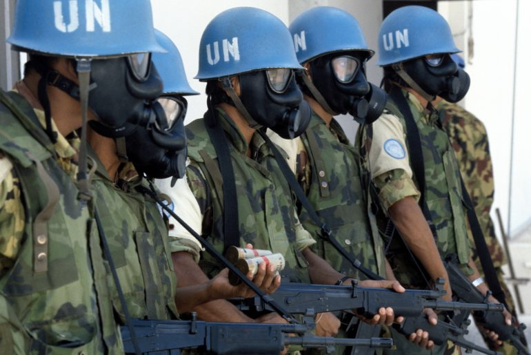 United Nations Peacekeeping Officials; accessed via Wikimedia Commons